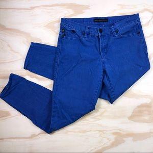 Rock & Republic Cobalt Blue Ankle Jeans